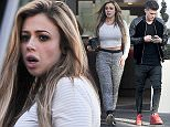 10 December 2015. Geordie Shore stars Holly Hagan and Gaz Beadle leave there London hotel this morning Holly goes make-up free after a night of partying at London's Dstrkt nightclub the night before Credit: KP/WILL/GoffPhotos.com   Ref: KGC-296/305