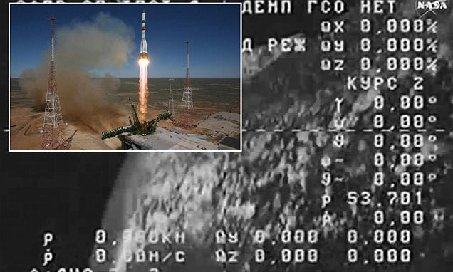 Out of control Russian spacecraft plunging back to Earth