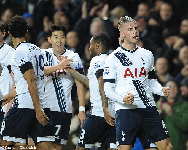 The Belgian was part of a solid Spurs defensive effort as well getting on the scoresheet against West Ham