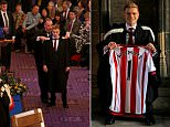 NEWCASTLE, UNITED KINGDOM - DECEMBER 10 : Sunderland player Duncan Watmore pictured whilst graduating from Newcastle University with a first class honors degree on December 10, 2015 in Newcastle upon Tyne, England. (Photo by Ian Horrocks/Sunderland AFC via Getty Images)