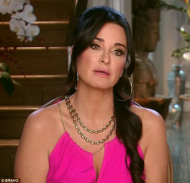 It's complicated: Kyle spoke about the drama surrounding her wedding invite on Tuesday's episode of the hit Bravo show