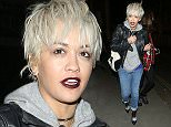 10 Dec 2015 - LONDON - UK  RITA ORA IS SEEN HERE LEAVING PIZZA EXPRESS IN NOTTING HILL, LONDON ROCKING A SHORT HAIR CUT AND LOOKING DRESSED DOWN AS SHE HAD A MEAL WITH FAMILY AND FRIENDS BEFORE HEADING HOME.   BYLINE MUST READ : XPOSUREPHOTOS.COM  ***UK CLIENTS - PICTURES CONTAINING CHILDREN PLEASE PIXELATE FACE PRIOR TO PUBLICATION ***  **UK CLIENTS MUST CALL PRIOR TO TV OR ONLINE USAGE PLEASE TELEPHONE   44 208 344 2007 **