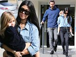 Picture Shows: Penelope Disick, Kourtney Kardashian  December 09, 2015\n \n Estranged couple Scott Disick and Kourtney Kardashian enjoy lunch together at Lovi's Delicatessen in Calabasas, California. Also joined the pair was their young daughter, Penelope.\n \n Non Exclusive\n UK RIGHTS ONLY\n \n Pictures by : FameFlynet UK © 2015\n Tel : +44 (0)20 3551 5049\n Email : info@fameflynet.uk.com