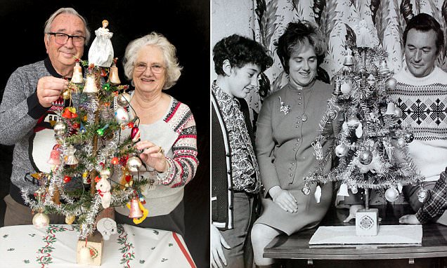 Pensioner uses the same Christmas tree his mother bought 78 years ago