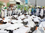 Horror at the Hajj: At least 700 people are crushed to death and hundreds injured in stampede during Muslim pilgrimage in Mecca just two weeks after crane collapse killed 109