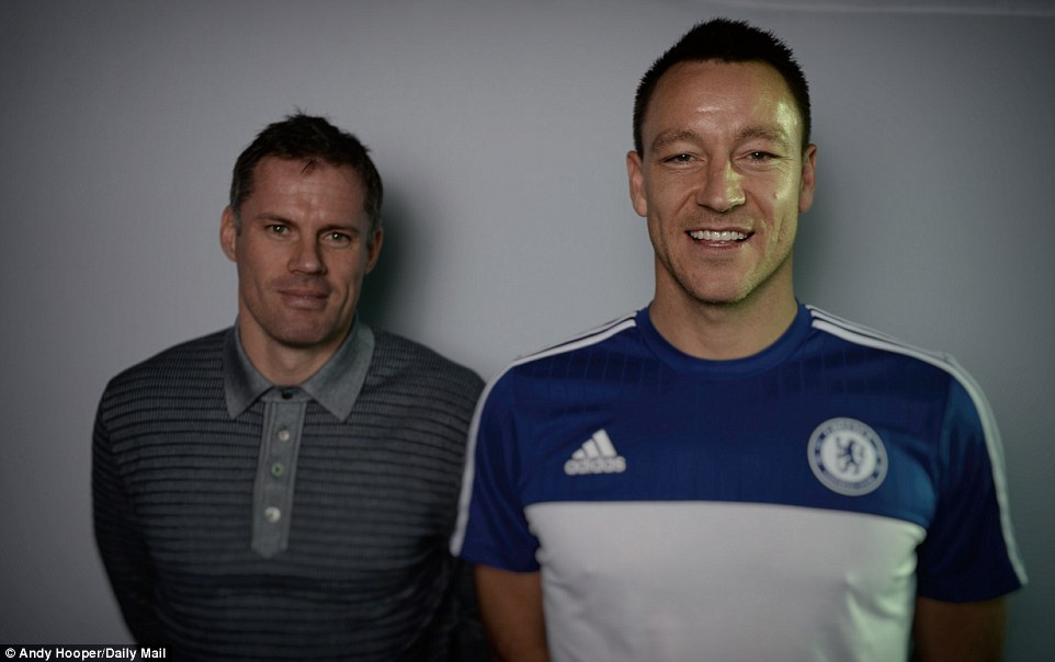 Carragher and Terry won trophies galore at Liverpool and Chelsea and met up once again to share some stories