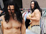 "Actor James Franco shows off his incredible ripped abs while filming a scene for his upcoming flick ""The Disaster Artist"" filming in Hollywood Ca. Co star and Producer Seth Rogen was also spotted on set but was behind the camera for todays scene.\nFeaturing: James Franco\nWhere: Hollywood, California, United States\nWhen: 11 Dec 2015\nCredit: Cousart/JFXimages/WENN.com"