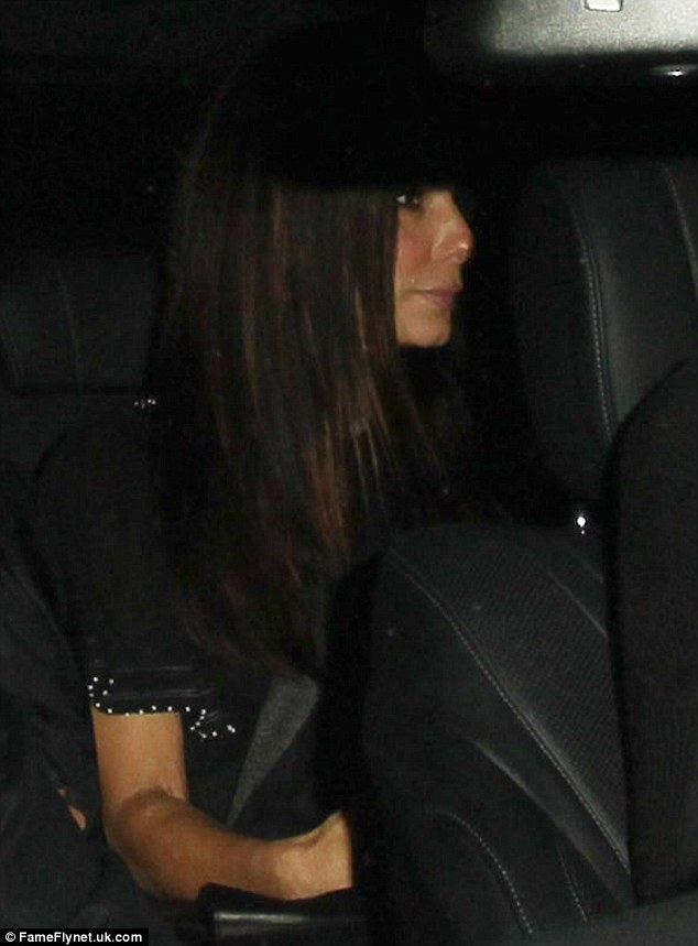 Chauffeur Bateman:Each looked to be in high spirits however, as they left the dining establishment, with Jason taking the wheel and Sandra hopping in behind him