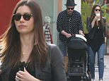 FAO ROBERT OSMOND, MAIL ONLINE - FEE SET AT £400 FOR THE SET FOR ONLINE USE EXCLUSIVE Justin Timberlake & Jessica Biel take son Silas to visit Santa at the Christmas house at The Grove Featuring: Justin Timberlake, Jessica Biel Where: Los Angeles, California, United States When: 09 Dec 2015 Credit: Owen Beiny/WENN.com