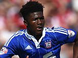 BRENTFORD, ENGLAND - AUGUST 08:  Ainsley Maitland-Niles of Ipswich Town in action during the Sky Bet Championship match between Brentford and Ipswich Town at Griffin Park on August 8, 2015 in Brentford, England.  (Photo by Tom Dulat/Getty Images)