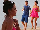 Model Danielle Lloyd and new beau Michael O'Neill are pictured taking a sunset stroll at the beach while on holiday in Barbados\n\nPictured: Danielle Lloyd, Michael O'Neill\nRef: SPL1193870  101215  \nPicture by: PRIMADONNA/GEMAIRA/Splash News\n\nSplash News and Pictures\nLos Angeles: 310-821-2666\nNew York: 212-619-2666\nLondon: 870-934-2666\nphotodesk@splashnews.com\n