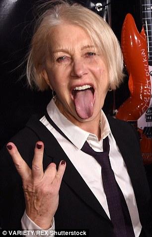 Attitude: Helen Mirren - a true rebel queen