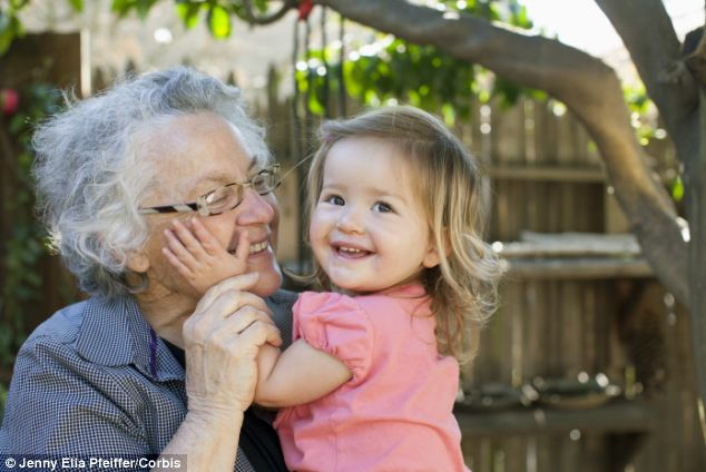 Sadly many grandparents do not get to have joyful memories of spending time with their grandchildren (pictures posed by models)