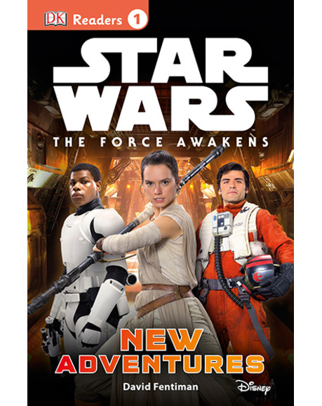 DK Readers L1: Star Wars: The Force Awakens: New Adventures - primary image