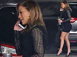 Picture Shows: Jennifer Lopez  December 10, 2015   udge Jennifer Lopez is seen arriving for a taping of 'American Idol' in Hollywood, California. Jennifer chatted on her phone the whole time as she made her way into the studio.    Exclusive All Rounder  UK RIGHTS ONLY    Pictures by : FameFlynet UK © 2015  Tel : +44 (0)20 3551 5049  Email : info@fameflynet.uk.com