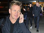 11.DECEMBER.2015 - LONDON - UK\n**EXCLUSIVE ALL ROUND PICTURES**\nCELEBRITY CHEF GORDON RAMSAY WITH HIS WIFE TANA ARRIVE INTO LONDON'S HEATHROW AIRPORT AFTER FLYING IN FROM LOS ANGELES. \nBYLINE MUST READ : XPOSUREPHOTOS.COM\n***UK CLIENTS - PICTURES CONTAINING CHILDREN PLEASE PIXELATE FACE PRIOR TO PUBLICATION***\nUK CLIENTS MUST CALL PRIOR TO TV OR ONLINE USAGE PLEASE TELEPHONE 0208 344 2007