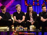 """In tonight?s episode (Channel 4, 10pm), boy band sensations One Direction will be joining Alan for a chat, as well as performing ?History?, an exclusive track from their album live in the studio. Lady Colin Campbell will be chatting about her experience in the latest series of ITV?s ?I?m A Celebrity&Get Me Out of Here?. Also dropping by will be ?The Moaning Of Life? star Karl Pilkington who will be chatting about the new Series 2 DVD and Blu-Ray.  Please find images attached, and quotes below from One Direction and Lady C. Best wishes, Hannah   One Direction   Their first VMA?s   AC: It?s the end of Chapter 1 of the One Direction Story. What?s been your highlight? When did you think ?Oh this is getting so big""""?    HS: I think for us it was our first VMA?s. It was one of our first trips to America when we were working and everyone who we grew up listening to, or we were listening to at the time, were the audience. When we performed and stuff it was right in front of people that we have"""
