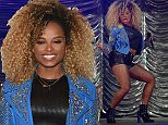 11 Dec 2015 - MANCHESTER - UK  FLEUR EAST AT KEY 103 CHRISTMAS LIVE AT THE MANCHESTER ARENA  BYLINE MUST READ : XPOSUREPHOTOS.COM  ***UK CLIENTS - PICTURES CONTAINING CHILDREN PLEASE PIXELATE FACE PRIOR TO PUBLICATION ***  **UK CLIENTS MUST CALL PRIOR TO TV OR ONLINE USAGE PLEASE TELEPHONE   44 208 344 2007 **
