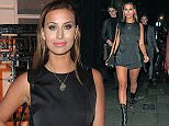 Celebrities attend In The Style - Billie Faiers launch party at TAPE London. London. UK Featuring: Ferne McCann Where: London, United Kingdom When: 11 Dec 2015 Credit: WENN.com