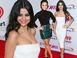 December 11, 2015: Selena Gomez arrives at the iHeart Radio, Z100's Jingle Ball 2015 in New York City. Mandatory Credit: PapJuice/INFphoto.com Ref: infusny-286