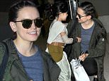 Los Angeles, CA - Daisy Ridley poses with a tiny Star Wars fan as she returns to Los Angeles after promoting her new film 'Star Wars: The Force Awakens' in New York.\nAKM-GSI    December  11, 2015\nTo License These Photos, Please Contact :\nSteve Ginsburg\n(310) 505-8447\n(323) 423-9397\nsteve@akmgsi.com\nsales@akmgsi.com\nor\nMaria Buda\n(917) 242-1505\nmbuda@akmgsi.com\nginsburgspalyinc@gmail.com