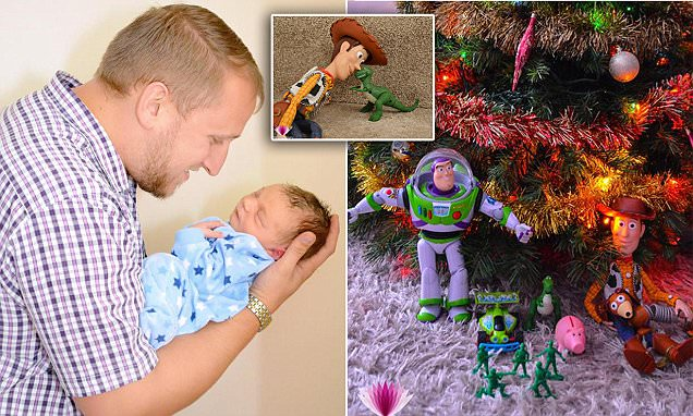 Sam Auger-Forber Toy Story to life for a magical Christmas photo album