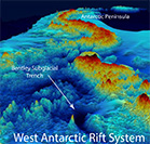 Volcanic hot zones found under Antarctica