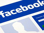 19 Apr 2013 --- Facebook website logos --- Image by © Duncan Andison/Corbis