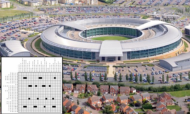 GCHQ director Robert Hannigan's Christmas card features a brainteaser
