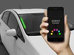 Uber unveils colour changing LED lights you can use to find your car