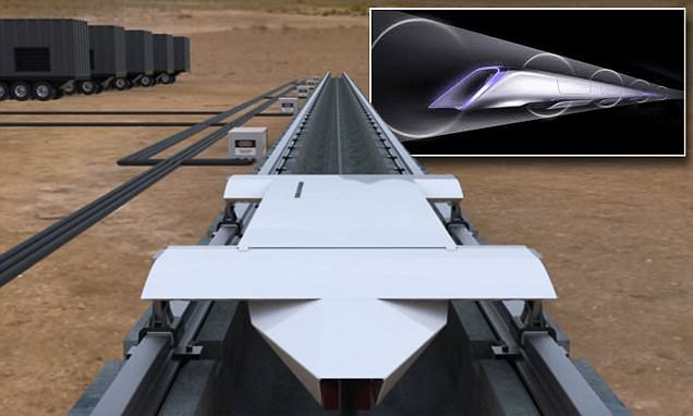 Elon Musk's Hyperloop transport system will be tested in Nevada next year