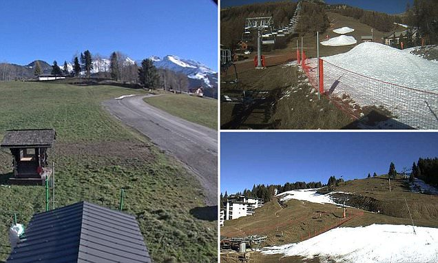 French Alps ski resorts postpone start of season due to lack of snow