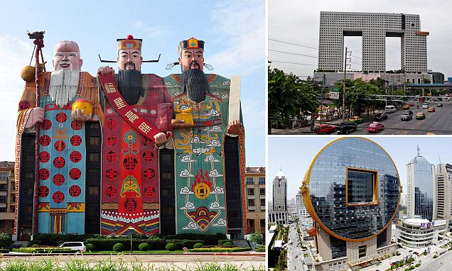 The world's strangest looking skyscrapers revealed
