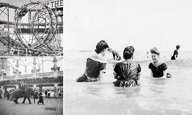 New York's Coney Island in its heyday in fascinating images