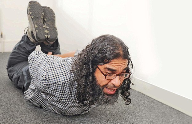 Aamer said he was in agony for 90 seconds and was bound for 45 minutes at a time when he was 'hog-tied'