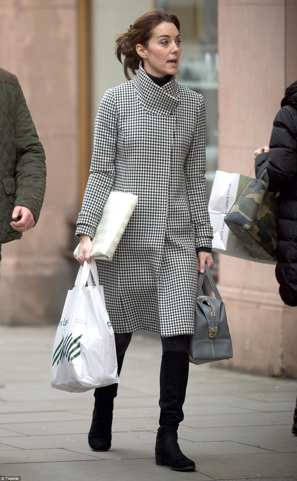 Plenty of presents: The Duchess spent about an hour browsing in the department store, and could have chosen gifts to be delivered