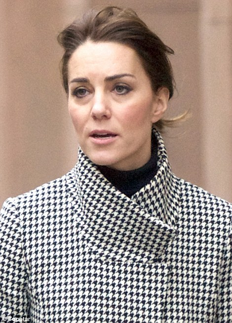 The Duchess appeared after a week of three royal engagements at which she impressed with her stylish outfits every time