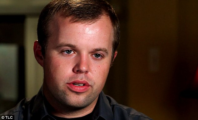 Hurt: 'I always wanted to be like him. But one of the toughest things I had to tell my older brother was I don't want to be like you anymore,' says Josh Duggar's brother John-David (above)