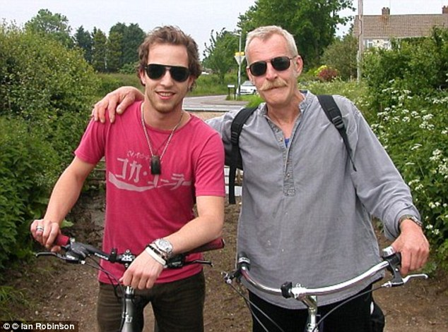 Morrison (pictured left with his father Paul Catchpole in 2011) had become a virtual recluse from the music scene, holed up in the mansion that his six million album sales had bought him – literally building a high gate to shelter himself from the outside world