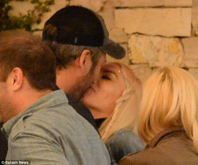 From flame to fire: Just two days ago, Blake Shelton, 39, and Gwen were spotted kissing publicly for the first time since it was announced they were together
