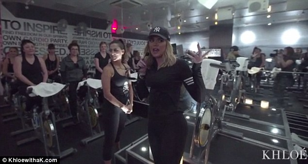 Greetings! Khloe Kardashian, 31, returned to her beloved SoulCycle class after a few months where she was greeted with a warm welcome in Hollywood on Saturday