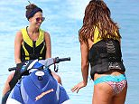Danielle Lloyd is pictured on a jetski watching new beau Michael flyboard on holiday in Barbados\n\nPictured: Danielle Lloyd, Michael O'Neill\nRef: SPL1194539  111215  \nPicture by: PRIMADONNA/GEMAIRA/Splash News\n\nSplash News and Pictures\nLos Angeles: 310-821-2666\nNew York: 212-619-2666\nLondon: 870-934-2666\nphotodesk@splashnews.com\n