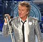 Singer Rod Stewart performing during concert at Verizon Wireless Amphitheater on July 15, 2015 in Alpharetta, Georgia.    (Photo by Chris McKay/Getty Images)