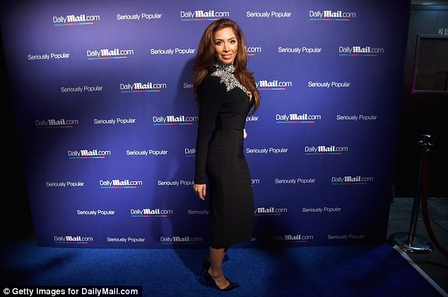 Speaking out:Farrah Abraham (pictured on Thursday) revealed that she has received an amazing response since coming forward with James Deen assault allegations