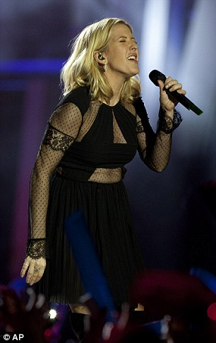 Impressive:Her double win comes after she was nominated for both the Grammy Awards and the Golden Globes this week