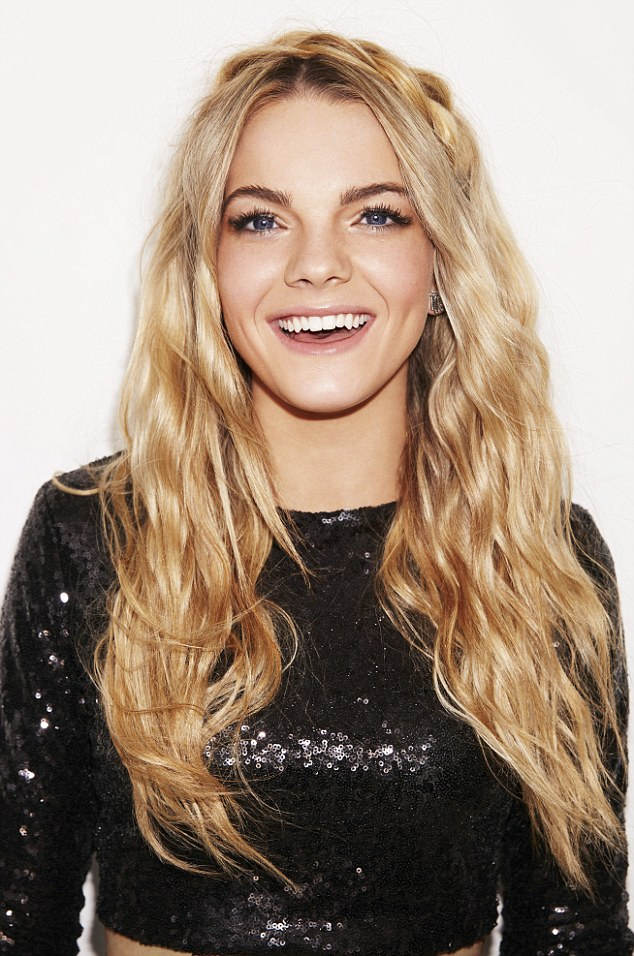 Superstar line-up: The singers set to duet with X Factor finalists Che Chesterman, Louisa Johnson (pictured) and Reggie N Bollie on Saturday night have finally been revealed