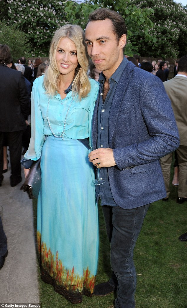 Party-loving Donna and James pictured at the annual Serpentine Gallery Summer Party in June 2013. They started dating in May the same year