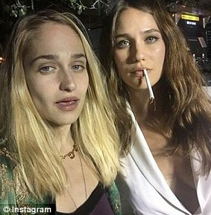 Stars: Recently, Lola has been catching up with her big sister's fame thanks to a role in Gone Girl and the 2015 film Mistress America