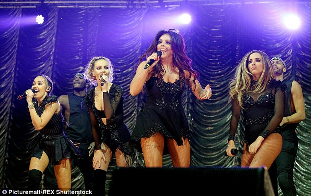 Top tune: 'We're SO excited that #SecretLoveSong feat @JasonDerulo will be our new UK and Ireland single! BUZZINGThe Girls x', the band confirmed on Twitter