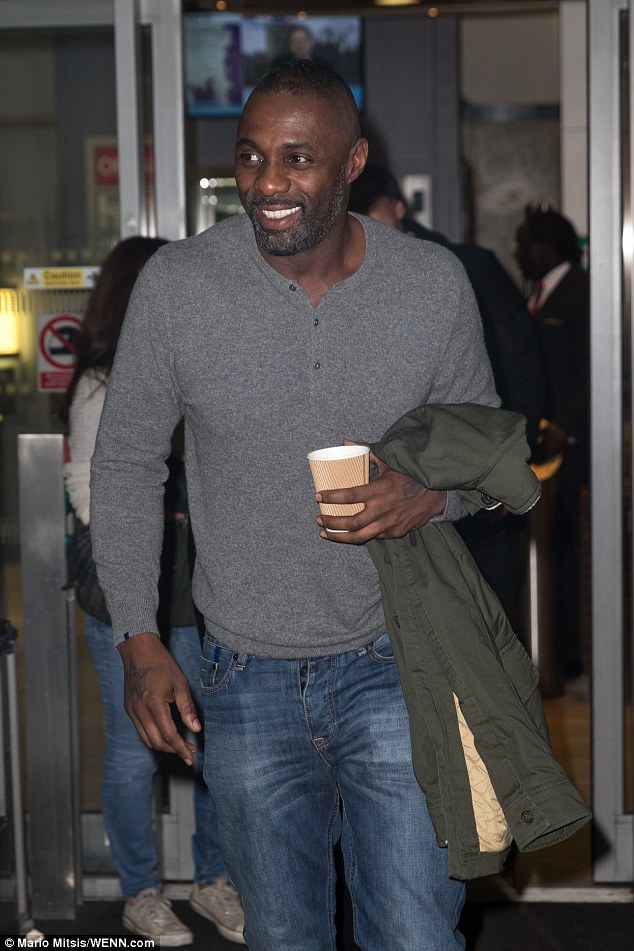 Golden boy!Idris has been recognised for his role in Luther, with SAG and Golden Globe nominations for his part as troubled policeman, DCI John Luther in the BBC series